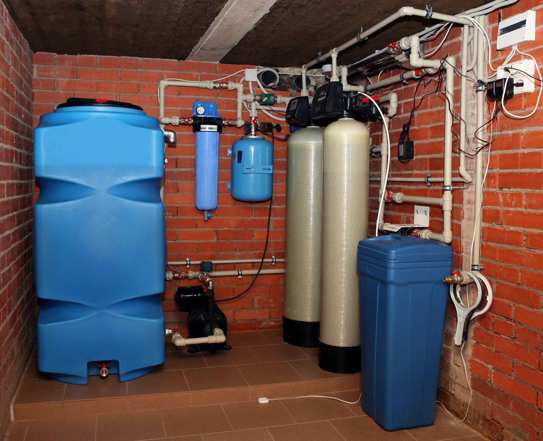 решились монтаж водоочистных в доме фото случае если военный